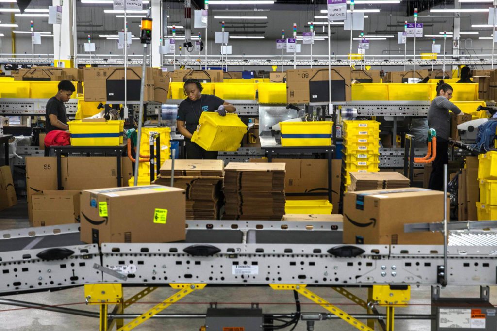 Amazon Warehouse Fulfilment Centre