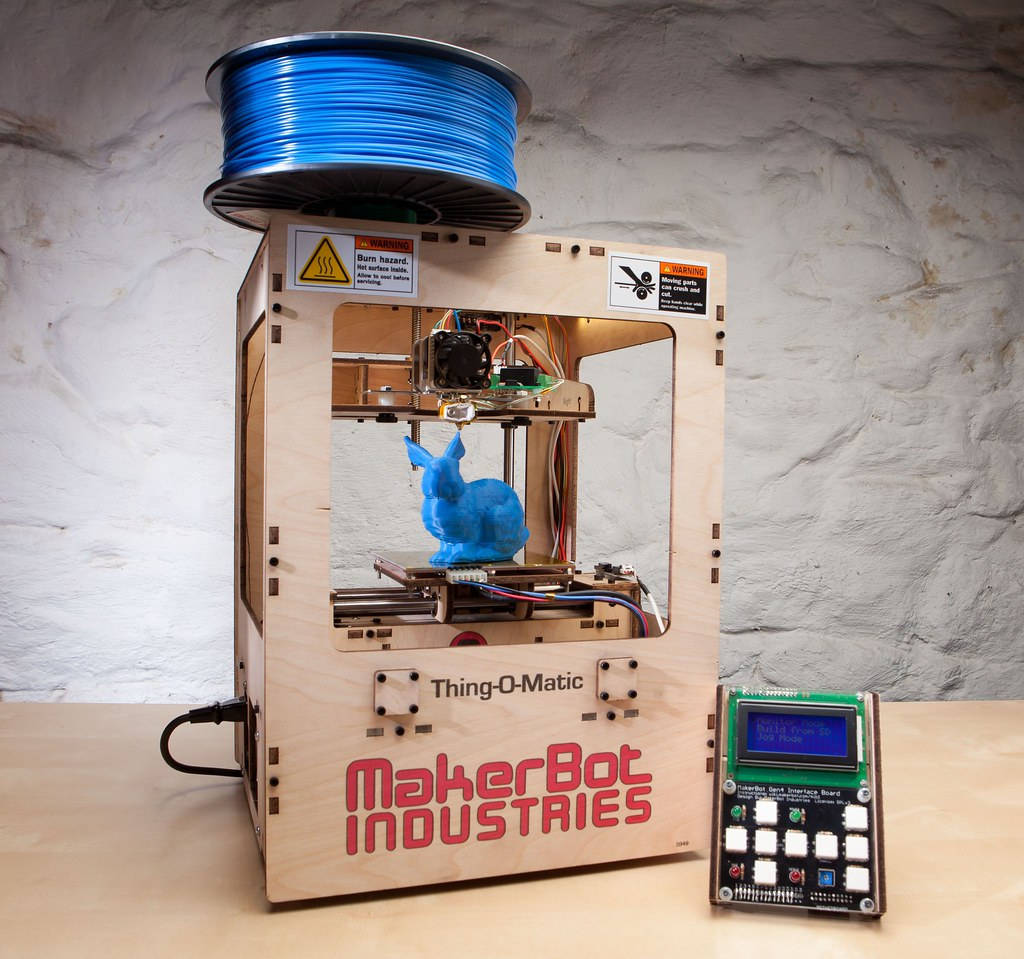 The Makerbot Thing-O-Matic